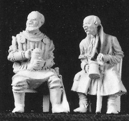 M117 Seated Drinking Companions