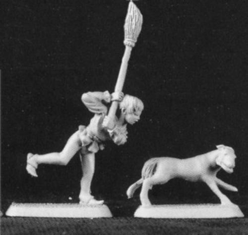 M119 Pot Boy and Dog