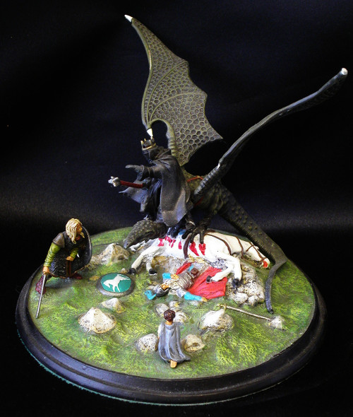 MB279 Lord of the Nazgul assembled and painted example.