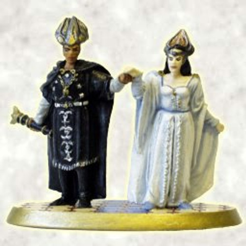 MS298 - The Return of the King - King Elessar and Queen Arwen