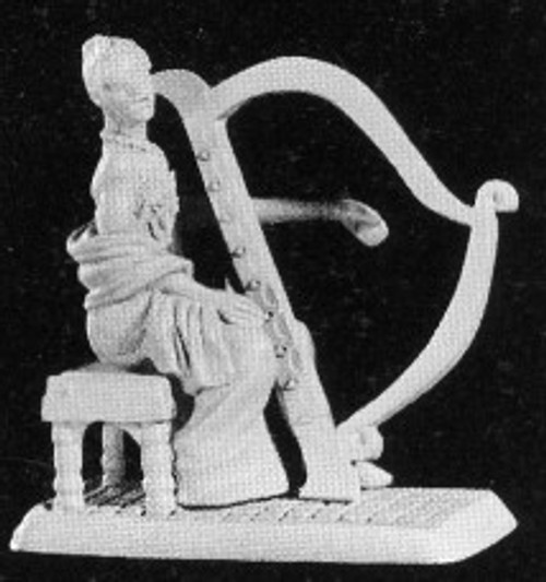 M340: Elf Girl Harpist