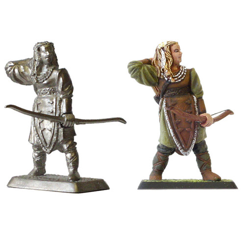 M403 - Woodmen girl with bow