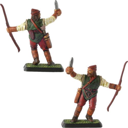 M417 Woodmen archer defending