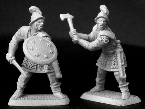 M429 Lossarnach infantry with 2 handed axe-sword