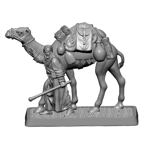 MZ672 Far-Harad Camel with rider.