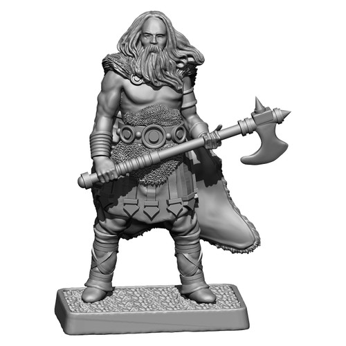 MZ686 Grimbeorn - son of Beorn metal miniature.