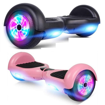 "Smartboard ""M1 Glarewheel"" 6.5"" Classic Hoverboard with LED Wheel"