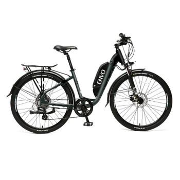 "ENVO ST - 500W 19"" Frame Step-thru Electric Bike - Jungle Black"