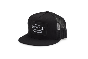 Onewheel Trucker Hat - Black