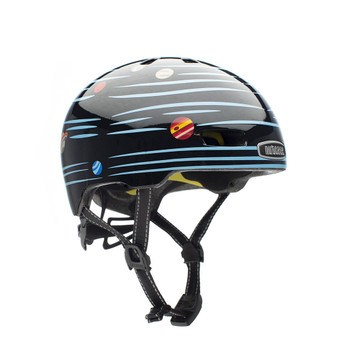 Nutcase Helmet LN20-G406 Little Nutty Defy Gravity Reflective MIPS - Toddler