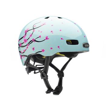 Nutcase Helmet ST20-G410 Street Octoblossom Gloss MIPS- M Smartwheel Canada