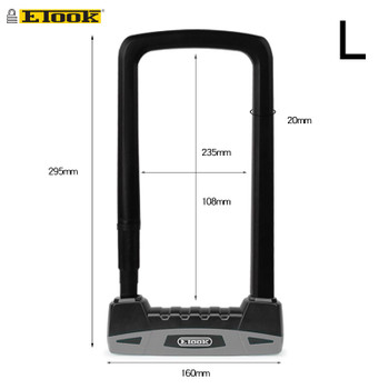 ETOOK ET500 U-Lock For Bike / E-Scooter - LARGE