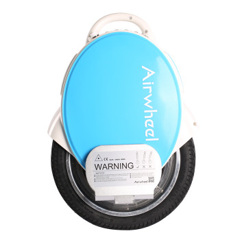 Airwheel Q5 170WH Electric Unicycle (White / Blue)