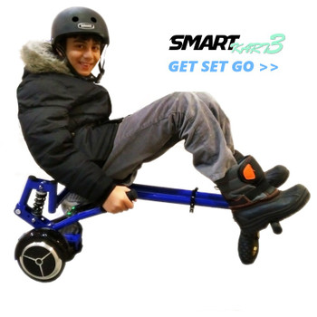 SmartKart 3 Pro (Hoverkart) Fits all Wheel Sizes - Black