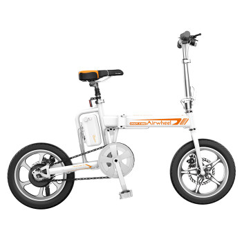 Airwheel R5 214WH Electric Foldable Bicycle - E Bike (White)