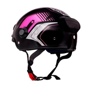 Airwheel C6 Smart Motorcycle Helmet with Built-in Camera & Speakers (Pattern Red)