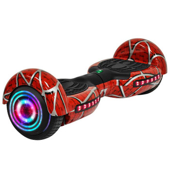"Smartboard SM1 6.5"" Spider Hoverboard with LED Wheel, Bluetooth"