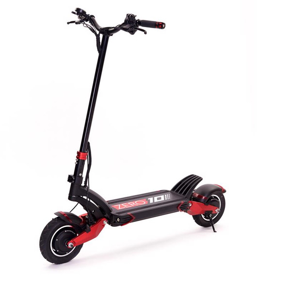 ZERO 10X LITE Dual Wheel Drive Electric Scooter - 52V 18A Battery / 2000W Motors