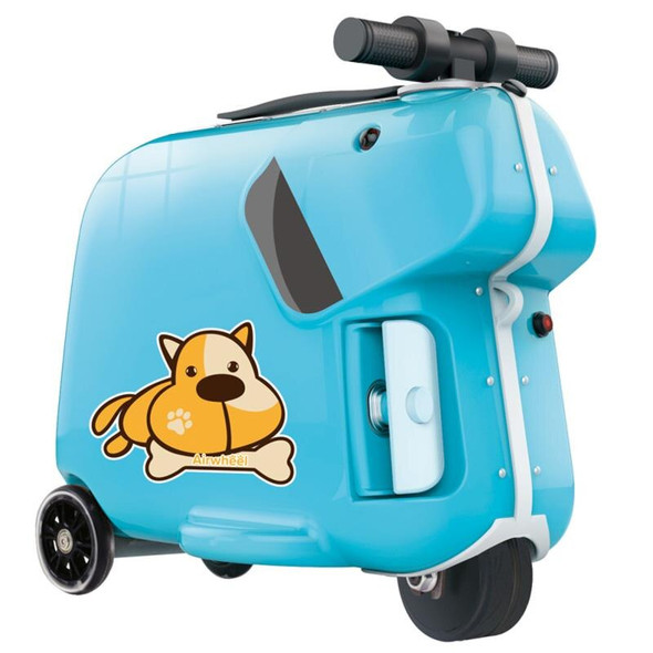 Airwheel SQ3 Kids Electric Luggage Scooter - Blue