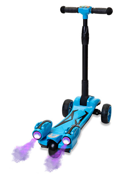 Smartboard Y1 Kids Rocket Scooter with LED and Smoke