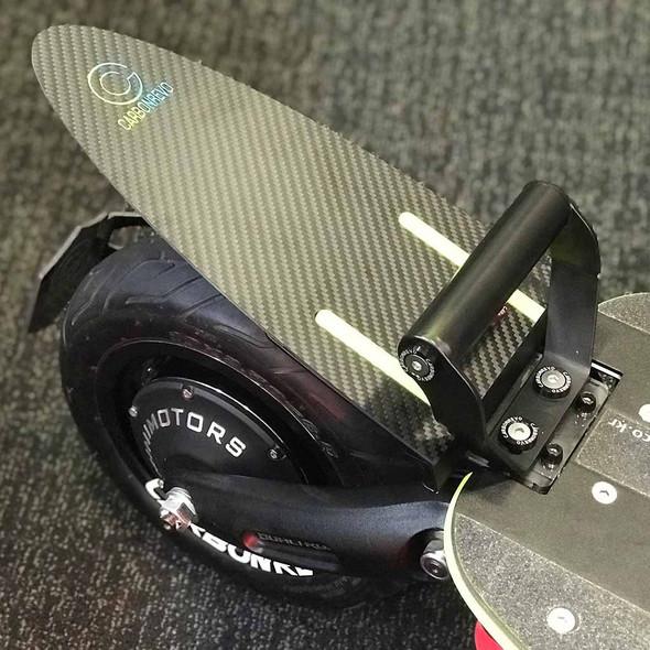 Dualtron (CarbonRevo) Fiber Mudguard with Adapter Plate