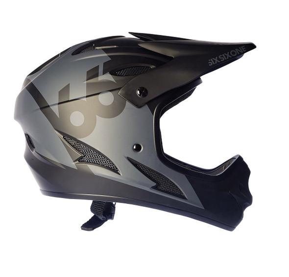 Sixsixone Helmet Comp Black - L