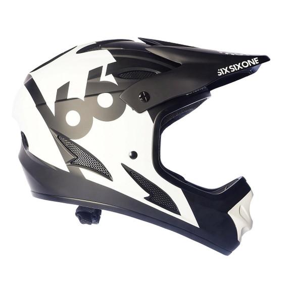 Sixsixone Helmet Comp White - M