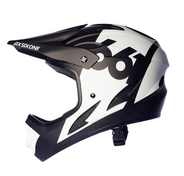 Sixsixone Helmet Comp White - L