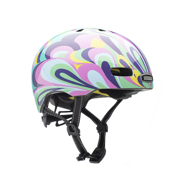 Nutcase Helmet ST20-G413 Street Wavy Gravy Gloss MIPS - S