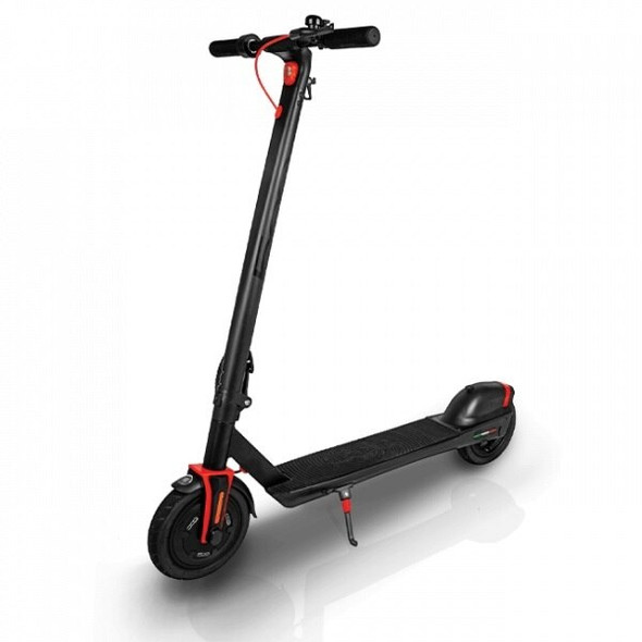 "Fiat 500 U2 8.5"" Wheel Foldable Electric Scooter - Vesuvio Black"