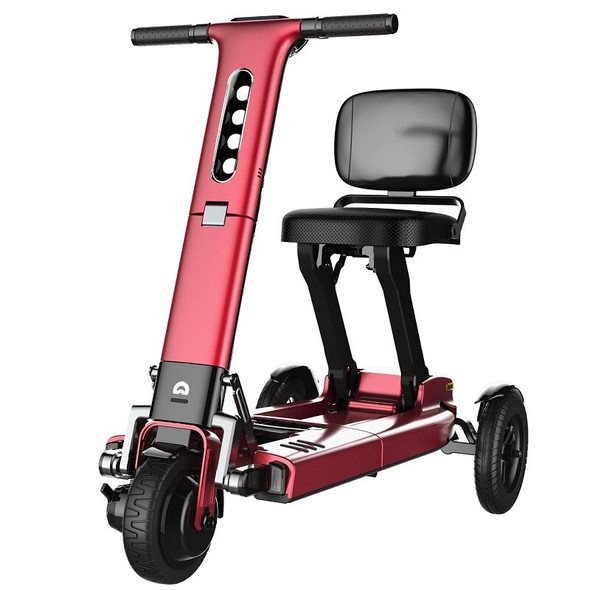 Relync R1 Foldable Compact Tri-wheel Electric Scooter - Red