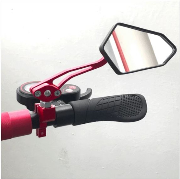 Monster Sporty Angular Rear and Side View Mirror set for Zero Scooters