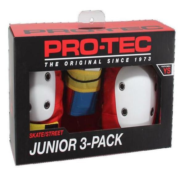 PROTEC JUNIOR - STREET GEAR 3 PACK - Retro- YOUTH MEDIUM