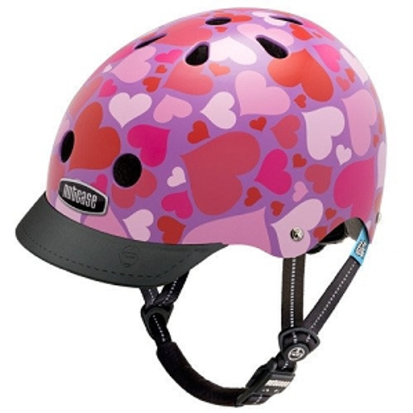 Nutcase Helmet LNG3-1098 Little Nutty Lotsa Love XS