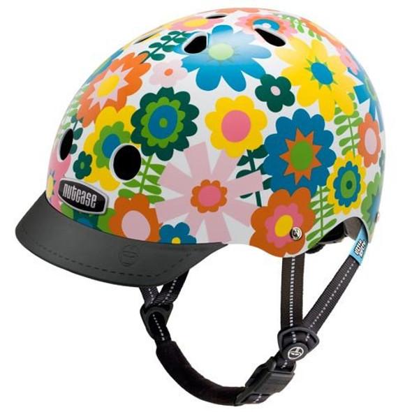 Nutcase Helmet LNG3-1103 Little Nutty In Bloom XS