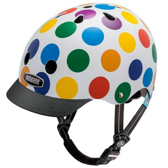 Nutcase Helmet LNG3-1003 Little Nutty Dots XS