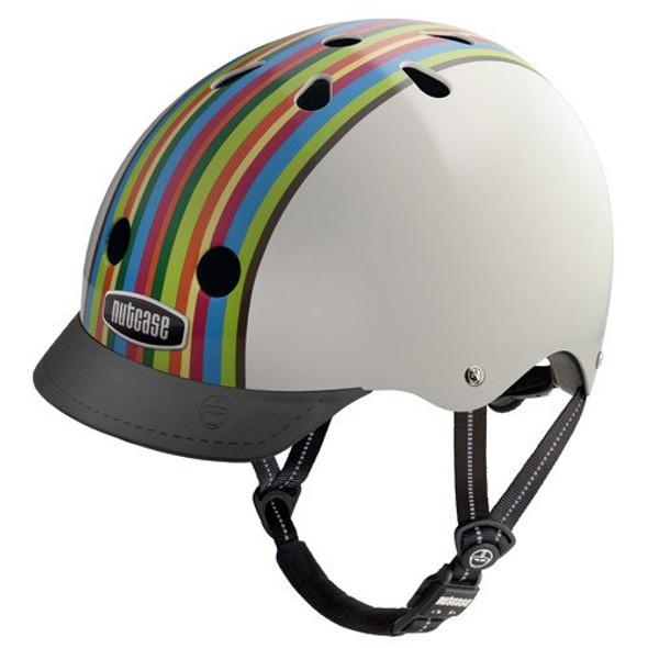Nutcase Helmet NTG3-2109 Rainbow Stripe