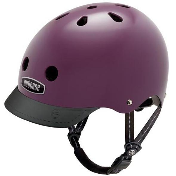 Nutcase Helmet NTG3-3025 Aubergine