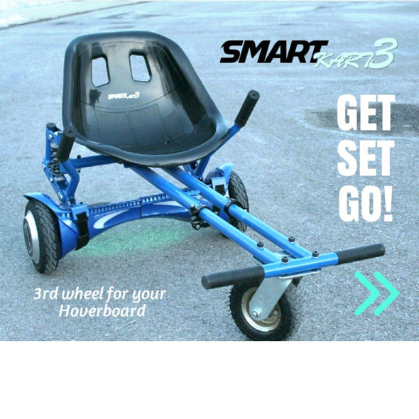 SmartKart 3 Pro (Hoverkart) Fits all Wheel Sizes - Black