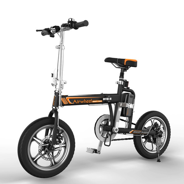 Airwheel R5 214WH Electric Foldable Bicycle - E Bike (Black)