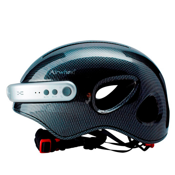 Airwheel C5 Smart Bike Helmet with Built-in Camera & Speakers (Carbon Fiber)