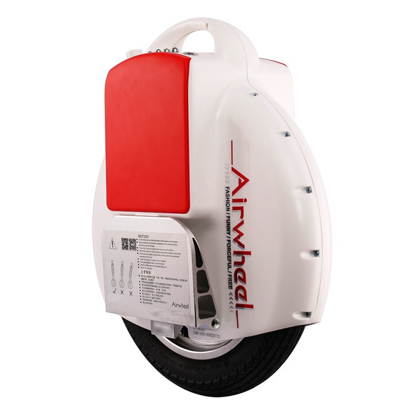 Airwheel X3 / X3S 130WH Electric Unicycle (White)