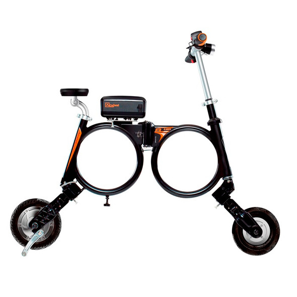 Airwheel E3 247WH Smart Foldable Backpack Bike (Black)