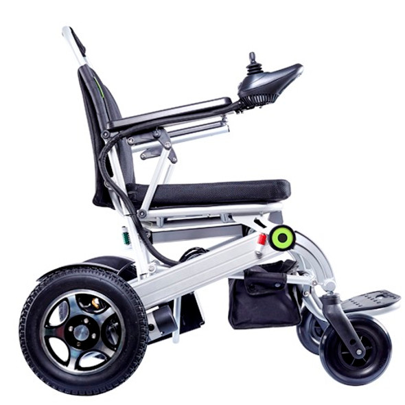 Airwheel H3S Electric Smart Self Folding Wheel Chair (Black / Silver)