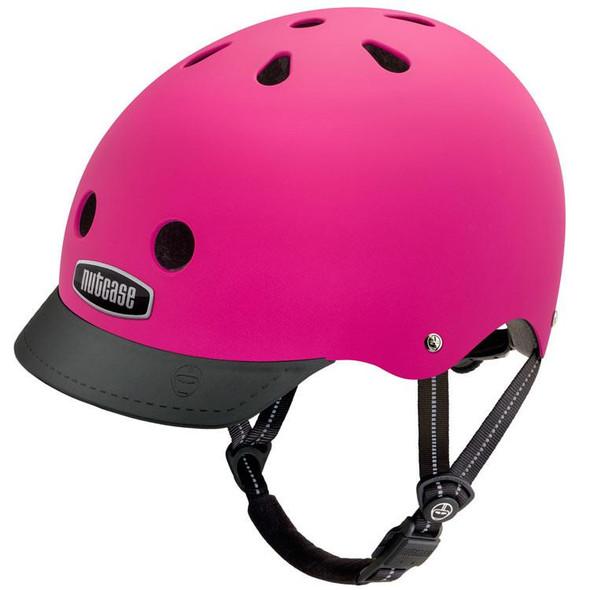 Nutcase Helmet NTG3-3031M Fuchsia (Matte)