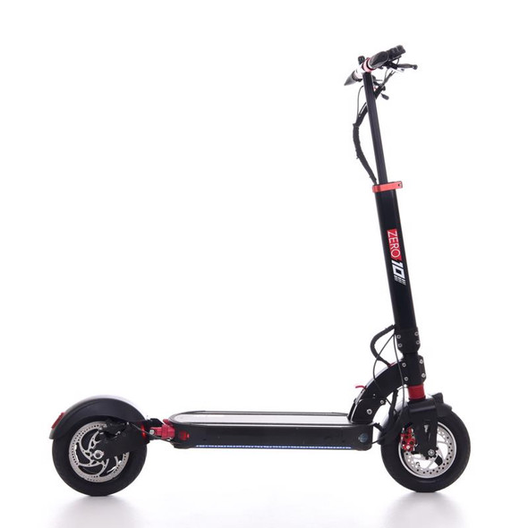 ZERO 10 Rear Drive Electric Scooter - 52V 18A Battery / 1000W Motor