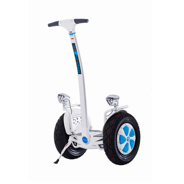 Airwheel S5 New 680WH Electric Two Wheel Self Balancing Scooter (White / Blue)