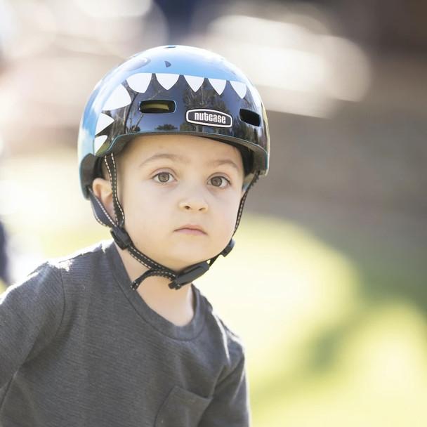 Nutcase Helmet LN20-G405 Little Nutty Lil' Jaws Metallic MIPS - Toddler
