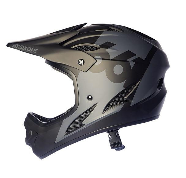 Sixsixone Helmet Comp Black - M