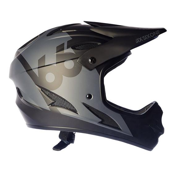 Sixsixone Helmet Comp Black - XL